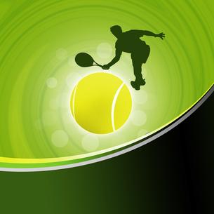 テニスの写真素材 [FYI00276006]