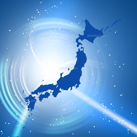 日本地図の写真素材 [FYI00276018]
