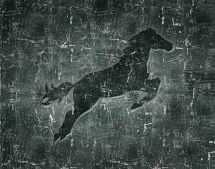 馬のレリーフの写真素材 [FYI00276019]