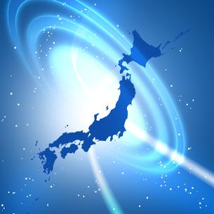 日本地図の写真素材 [FYI00276037]