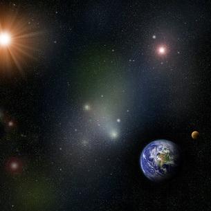 宇宙の写真素材 [FYI00276050]