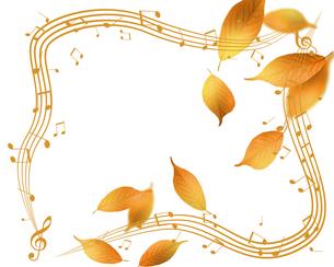 秋の音楽の写真素材 [FYI00276084]