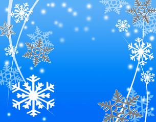 雪の結晶の写真素材 [FYI00276164]