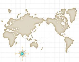 世界地図の写真素材 [FYI00276188]
