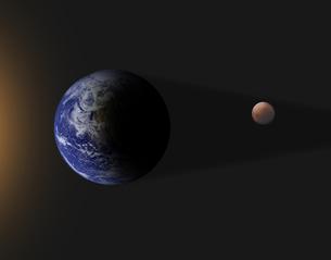 皆既月食の写真素材 [FYI00276192]