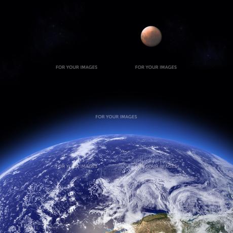 皆既月食の写真素材 [FYI00276206]