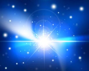 輝く星雲の写真素材 [FYI00276244]