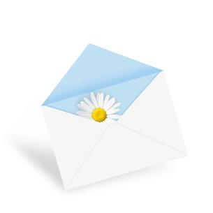手紙の写真素材 [FYI00276255]