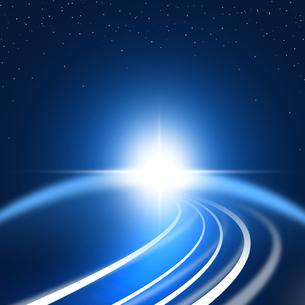 未来的光の写真素材 [FYI00276263]