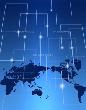 グローバルネットワークの写真素材 [FYI00276287]