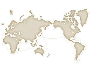 世界地図の写真素材 [FYI00276314]