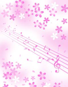 春の音楽の写真素材 [FYI00276351]
