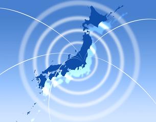 日本地図の写真素材 [FYI00276361]