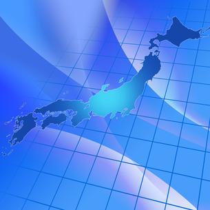 日本地図の写真素材 [FYI00276404]