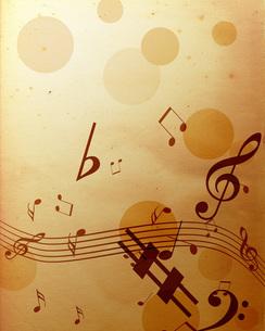 音楽の写真素材 [FYI00276487]