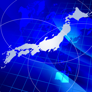 日本地図の写真素材 [FYI00276515]