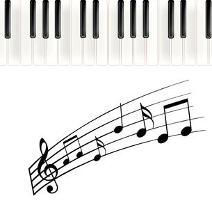 ピアノを弾くの写真素材 [FYI00276533]