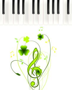 鍵盤と音楽の写真素材 [FYI00276542]