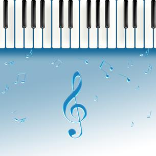 ピアノを弾くの写真素材 [FYI00276618]