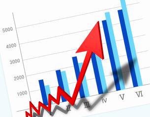 ビジネス成長の写真素材 [FYI00276642]