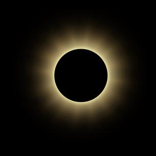 金環日蝕の写真素材 [FYI00276666]