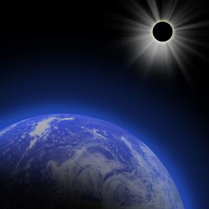 皆既日食の素材 [FYI00276689]