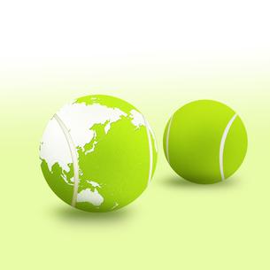 テニスボールの写真素材 [FYI00276737]