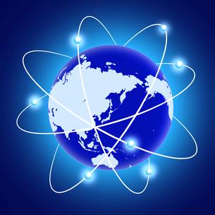 グローバルネットワークの写真素材 [FYI00276759]