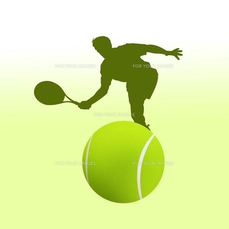 テニスの写真素材 [FYI00276760]