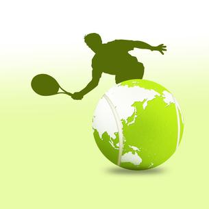 テニスの写真素材 [FYI00276801]