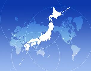 世界の中の日本の写真素材 [FYI00276807]