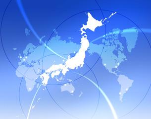 世界の中の日本の写真素材 [FYI00276838]