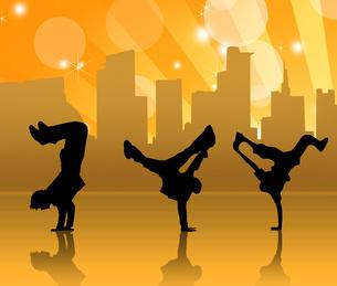 ストリートダンスの写真素材 [FYI00276853]