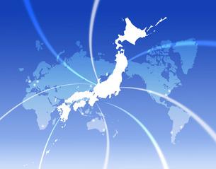 世界の中の日本の写真素材 [FYI00276860]