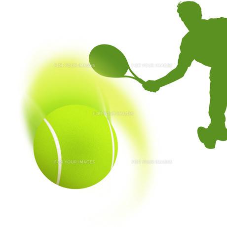 テニスの写真素材 [FYI00276862]