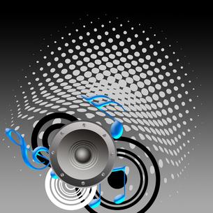音楽を聴くの写真素材 [FYI00276878]