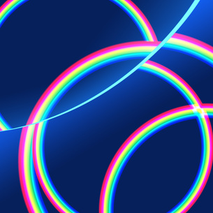 虹模様の写真素材 [FYI00276920]