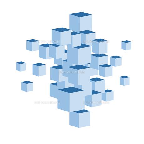 立方体の写真素材 [FYI00276927]