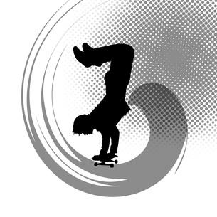 スケートボードの写真素材 [FYI00276939]