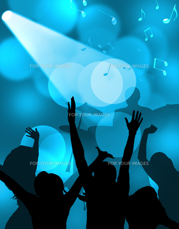 コンサートの写真素材 [FYI00276957]