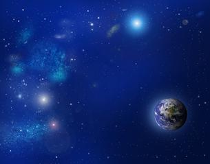 宇宙と地球の写真素材 [FYI00276976]