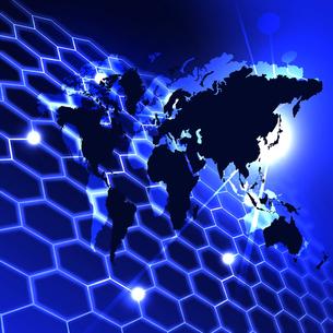ビジネスネットワークの写真素材 [FYI00276988]