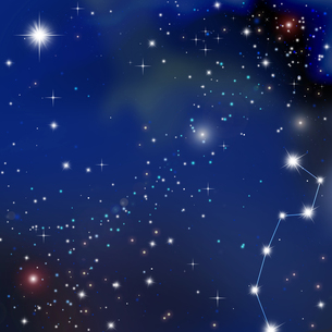 銀河の写真素材 [FYI00276996]