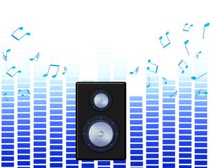 音楽を聴くの写真素材 [FYI00277005]