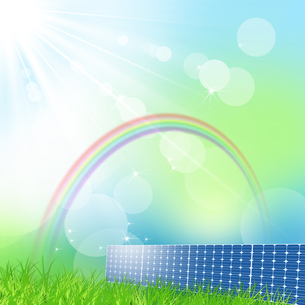 ソーラーパネルの写真素材 [FYI00277024]