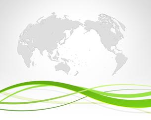 世界地図とエコロジーの写真素材 [FYI00277030]