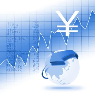経済指標の写真素材 [FYI00277052]