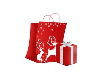 クリスマスショッピングの写真素材 [FYI00277099]