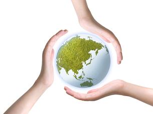 エコロジー地球の写真素材 [FYI00277110]