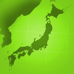 日本と朝鮮半島の写真素材 [FYI00277138]